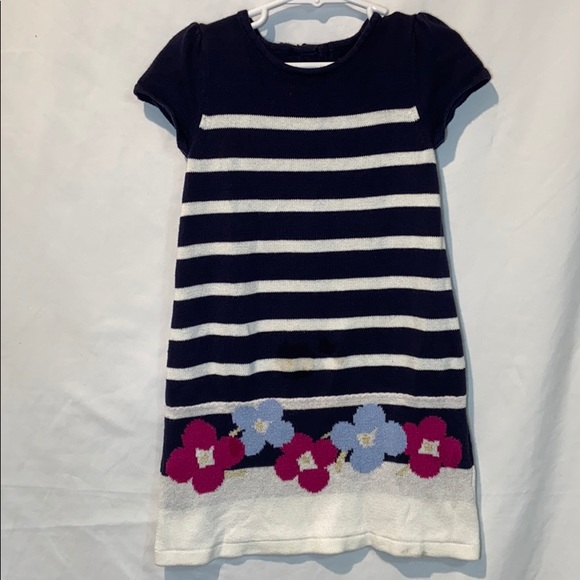 Gymboree Other - Gymboree Little Girls Knit dress, striped size 4T